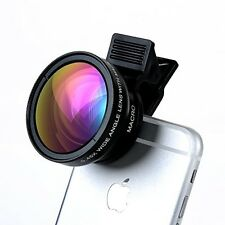 Cell Phone Camera Lens - TURATA 2 In 1 Professional HD Camera Lens Kit Clip-on