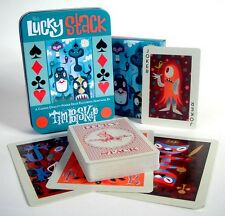 TIM BISKUP 'The Lucky Stack', 2006 Playing Cards Deck 2nd Ed. in Tin OoP *NEW*
