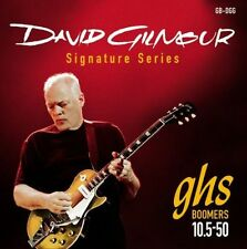 3 Pack Sets GHS DGG David Gilmour Red Boomers Electric strings 10.5-50