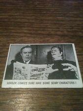 1973 Topps You'll Die Laughing #103 2nd Series Frankenstein VG Glenn Strange