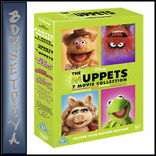 THE MUPPETS - 7 MOVIE COLLECTION    **BRAND NEW DVD BOXSET**