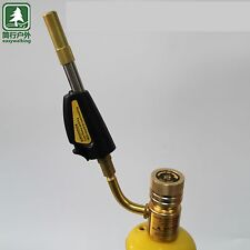 Mapp Gas Self Ignition Turbo Torch Brazing Solder Propane Welding Plumbing New