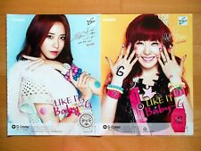 SNSD Girls' Generation/Casio Baby G/K POP/9p.Magazine clippings/Sep.2012