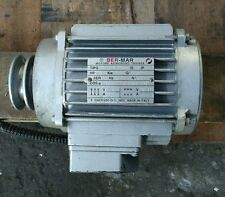 Ber-Mar drycleaning spin motor BM71S4.7001