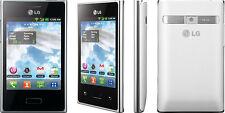 Brand New LG e400 DUAL SIM 3g Bianco/Silver