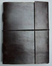 Celtic Handmade Plain Paper Leather Embossed   Personal Diary Sketch 021