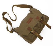 Light vintage leisure canvas camera bag Messager bag for DSLR 1 camera 2 lenses