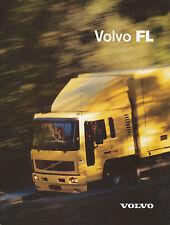 Volvo FL Truck Prospekt 265762 brochure prospectus LKW Lastwagen lastbil Sweden