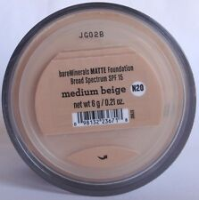 Bare Escentuals bareMinerals Authentic Matte foundation Medium Beige 6g NEW