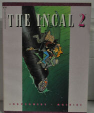 THE INCAL #2 F-VF  MOEBIUS OUT OF PRINT GRAPHIC NOVEL HARD TO FIND!