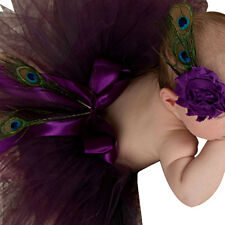 Newborn Baby Girl Flower Headband&Tutu Skirt Photo Photography Costume Prop CA