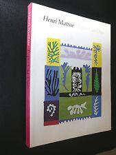 MATISSE Henri 77 Catalogue Paper cut-outs Papiers découpés Fauvisme