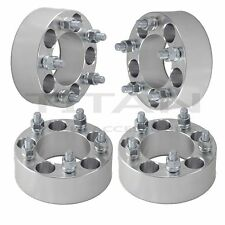 "(4) Jeep 2"" Wheel Spacers Adapters 5x4.5 Wrangler TJ, YJ, XJ, KJ, KK, ZJ, MJ"