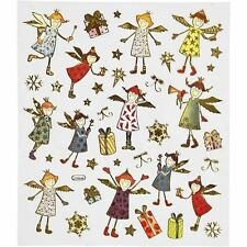 Fancy Christmas Stickers - Angels