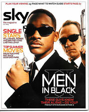 SKY MAGAZINE Men in Black cover 2003 WILL SMITH, TOMMY LEE JONES, VINNIE JONES