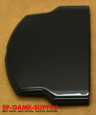 Original Battery Cover Door for Sony PSP 3000 3001 Piano Black With Logo USA!