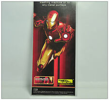 IRON MAN Magnets character NEW Sealed condition