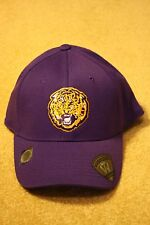 MEN'S LSU TIGERS TOP OF THE WORLD ONE FIT HAT / CAP - Size S/M (NWT)