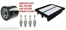 FOR CHEVROLET AVEO 1.4 2008  3PCSERVICE PARTS OIL AIR & SPARK PLUGS KIT
