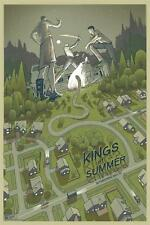KINGS OF SUMMER SCREEN PRINTED POSTER BY RICH KELLY MONDO