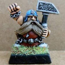1993 Dwarf Flame Cannon Crew Master Gunner Citadel Pro Painted Fire Warhammer GW