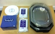 Buffet Party Pack, Napkins, Cutlery, Buffet Platters/ Trays, Plates