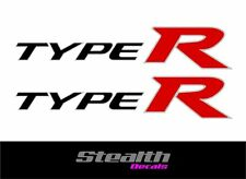 Civic Type R side decal sticker kit, FN2, Type-R various colours FREE UK post