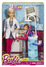 Barbie Careers I CAN BE A DENTIST doll Playset - DHB64 Ages 3+ BRAND NEW!!
