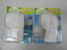 2 New Air Wick Silent Built in Fan Scented Oil  Extra Boost Warmer( No Refills)