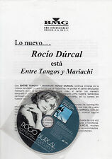 "ROCIO DURCAL ""SOMBRAS NADA MAS"" RARE SPANISH PROMO CD SINGLE+PRESS INFO SHEET"
