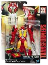 TRANSFORMERS TITANS RETURN DELUXE CLASS AUTOBOT FIREDRIVE & HOT ROD