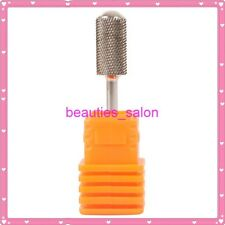 """Electric Carbide Pro Nail Art Drill File Bits Replacement # F 3/32"""" Smooth End"""