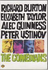 DVD The Comedians: Elizabeth Taylor Richard Burton Alec Guinness Peter Ustinov