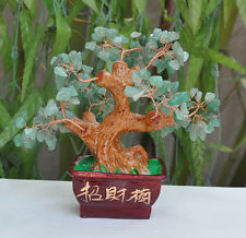 AAA+++ Lucky tree!!! Natural green aventurine crystal gem tree reiki