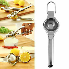 Kitchen Bar Stainless Steel Lemon Orange Lime Squeezer Juicer Hand Press Tool DG