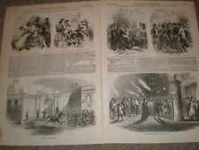France election of the French President 1848 old prints and article