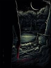 FRIDAY THE 13TH LIMITED EDITION SCREEN PRINT BY DAN MUMFORD HORROR PRINT