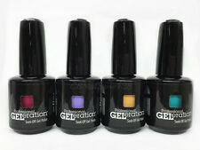 Jessica GELeration Soak Off Gel Polish 0.5oz/15ml- Set of 4 Colors