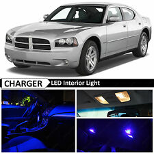 10x Blue LED Interior Lights Package Kit for 2006-2010 Dodge Charger