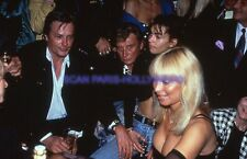 JOHNNY HALLYDAY ALAIN DELON 90s DIAPOSITIVE DE PRESSE ORIGINAL VINTAGE SLIDE #11
