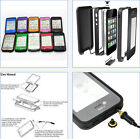 M3AO Waterproof Shockproof Dirt Snow Proof Hard PC Cover Case for iPhone 4S 4