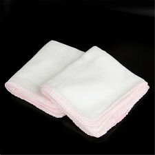 Pack of 10pcs Cotton Facial Face Cleansing Muslin Cloth Cleaning Dirt Removal UK