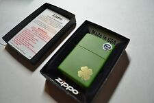 Genuine Zippo Pocket Lighter MOSS GREEN MATTE 21031 Shamrock 181507-e