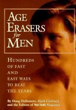 """NEW*UNOPENED* """"Age Erasers for Men~BEAT THE YEARS~MEN'S HEALTH"""" 1994 HC"""