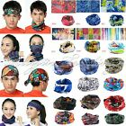 Multi Use Head Scarf Headband Mask Snood Bandana Cap Neck Warm Bicycle Sports
