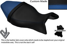 BLACK & ROYAL BLUE CUSTOM FITS BUELL X1 LIGHTNING 1200 98-02 DUAL SEAT COVER