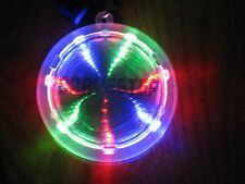 Rave Party Dance Cravestep Festival Psychedellic Infinity Tunnel LED Necklace