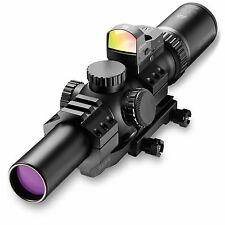 Burris 200426-FF MTAC 1-4x24mm Illuminated Ballistic AR Combo Kit Riflescope