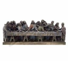 "Medium The Last Supper Sculpture Statue Figurine - 12"" Long - WE SHIP WORLDWIDE"