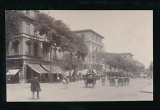 Egypt CAIRO? nice street level scene Egyptian troops c1900s u/b PPC